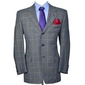 Hickey Freeman  Blazer P Mens Silk W